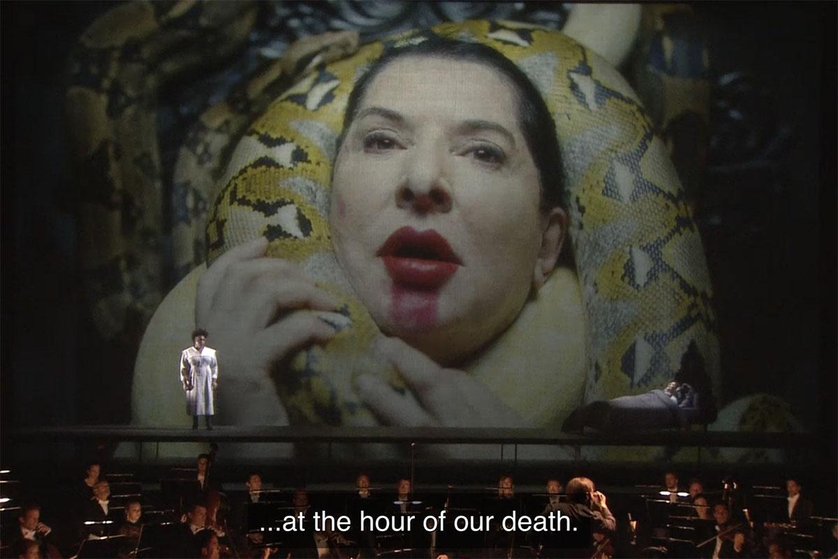 Marina Abramovic 7 Deaths of Maria Callas