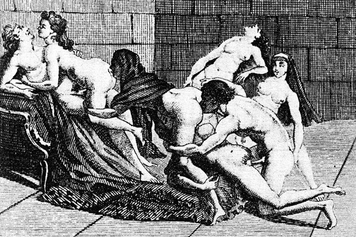Marquis De Sade Illustration (detail)