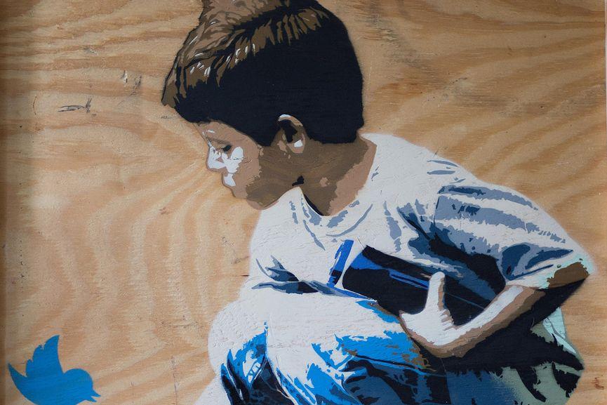 Marshal Arts – Boy & Dove (detail)