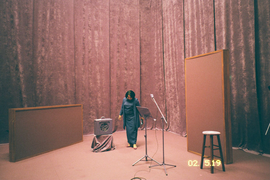 Martine Syms - Incense, Sweaters and Ice, film still, 2017, Courtesy of the artist and Bridget Donahue New