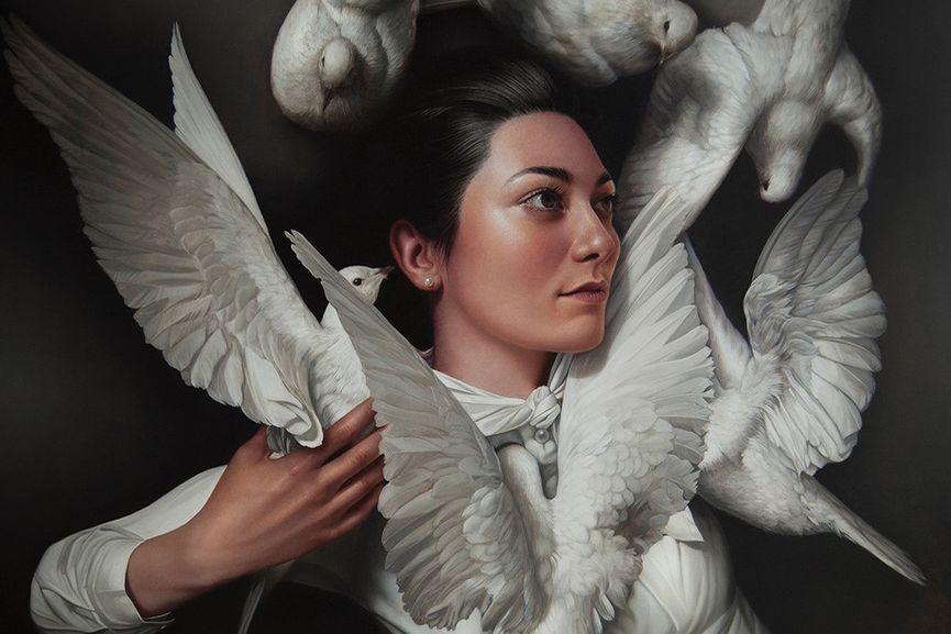 Mary Jane Ansell - Treasury of Souls (detail)