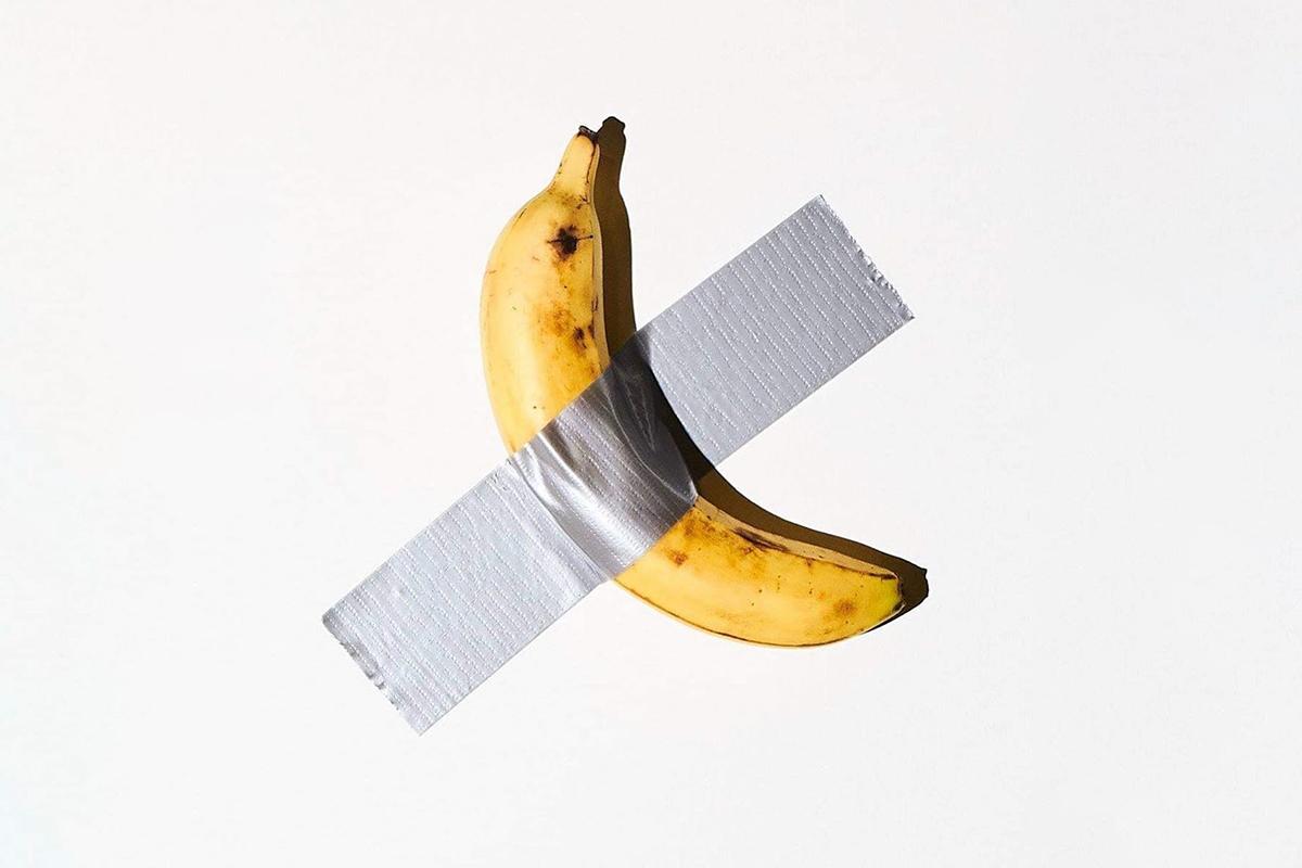 Maurizio Cattelan - Comedian Banana