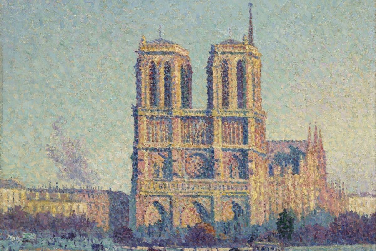 Maximilien Luce - The Quai Saint-Michel and Notre-Dame, 1901 f