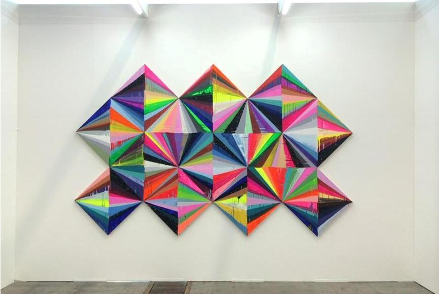 Maya Hayuk - At Alice Gallery Art Brussels