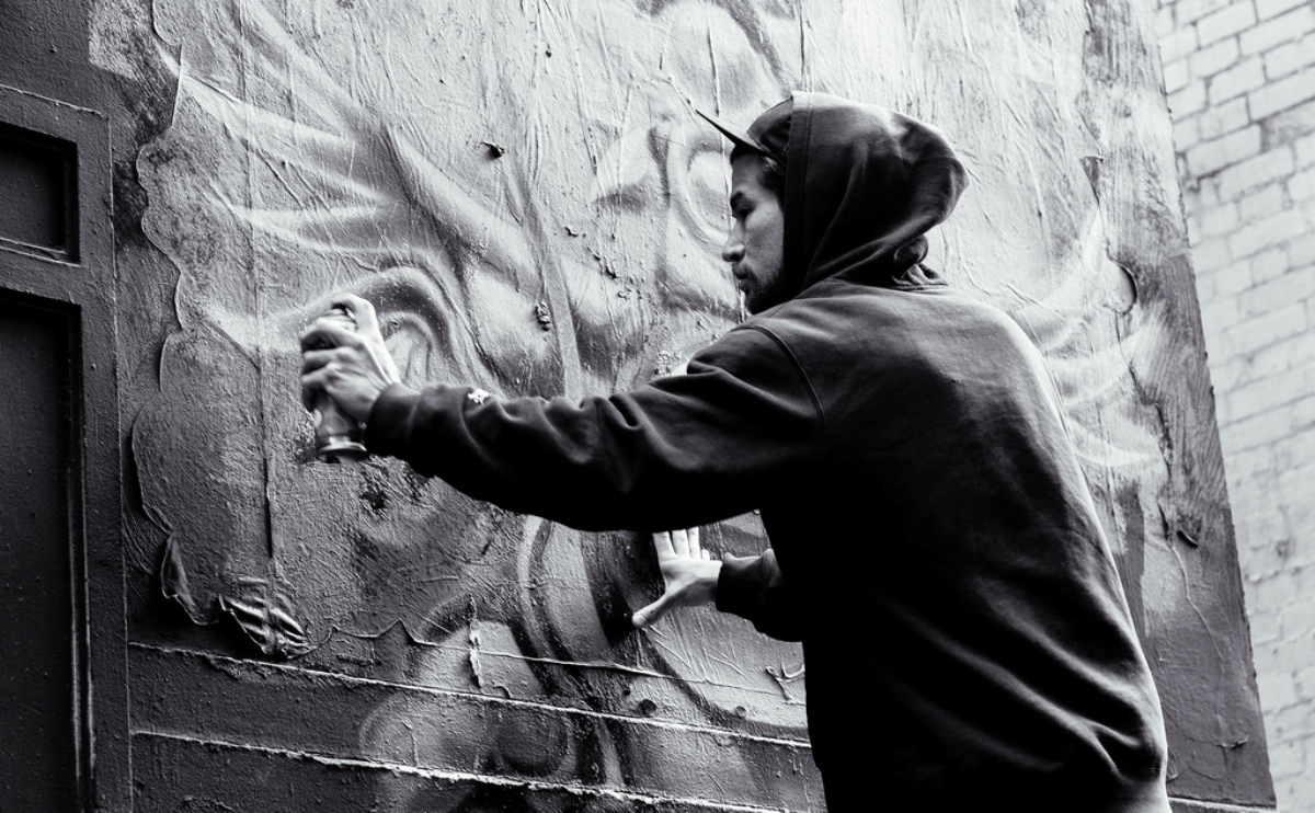 Melbourne Street Artist (photo by roberto Seba)