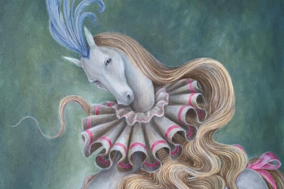 Meryl Smith - The Pierrot Equus (detail), 2019