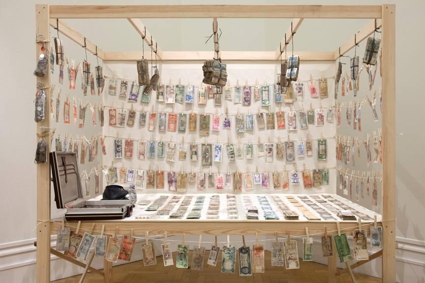 Meschac Gaba - Brasilian Bank, 2006, Courtesy of Bristol Museum & Art Gallery