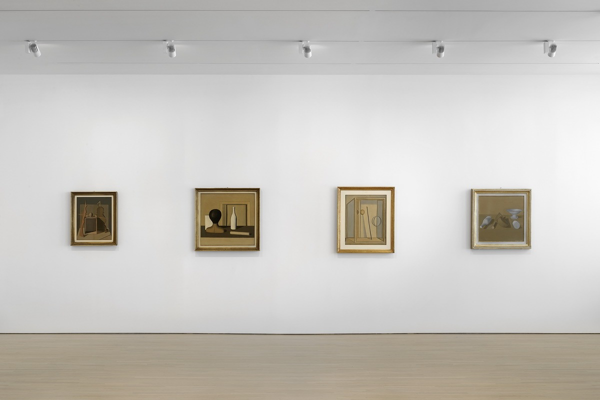 Methaphysical Masterpieces 1916-1920 - Installation view