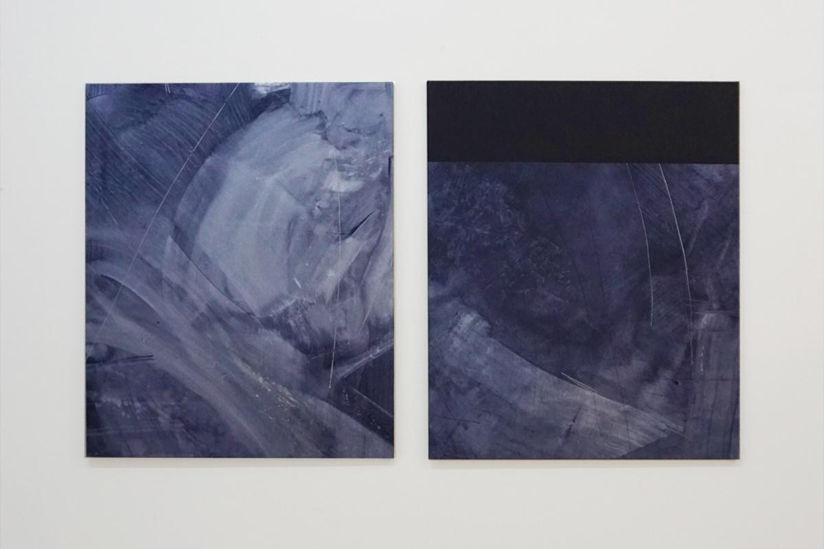 Michael Bennett – Turbulence Subsides (Diptych), 2017