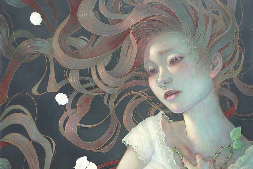 Miho Hirano - Traces of feelings (detail)