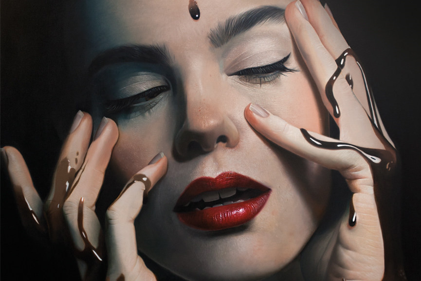 Mike Dargas - Fade to Black 2016 detail
