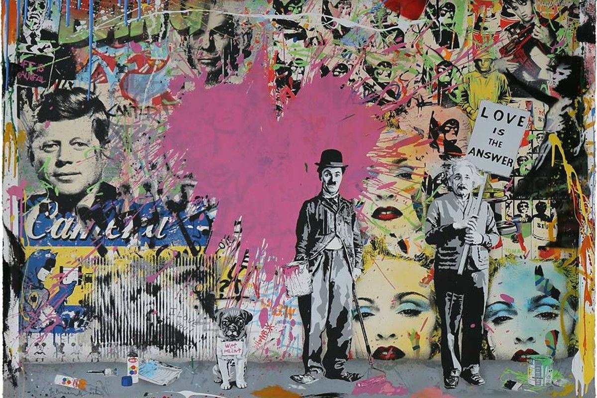 Mr. Brainwash, courtesy of Addicted Art Gallery