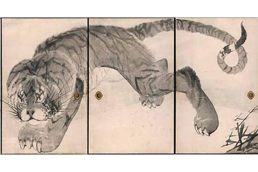 Nagasawa Rosetsu - Dragon, 1786