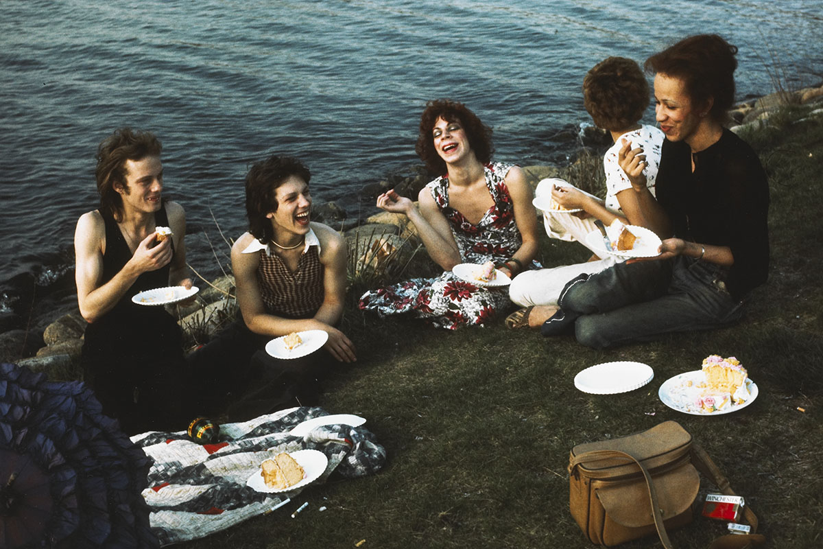 Nan Goldin - Picnic on the Esplanade, Boston, 1973