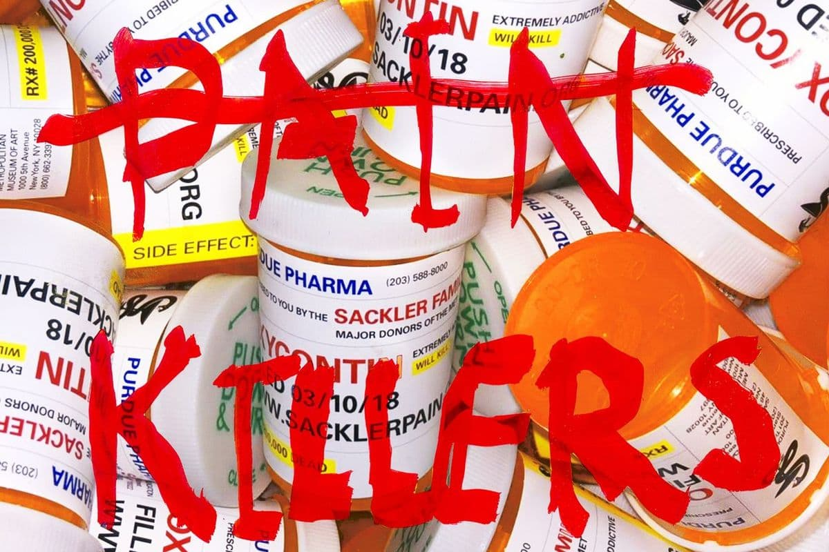 Nan Goldin takes on America's Opioid epidemic (detail)
