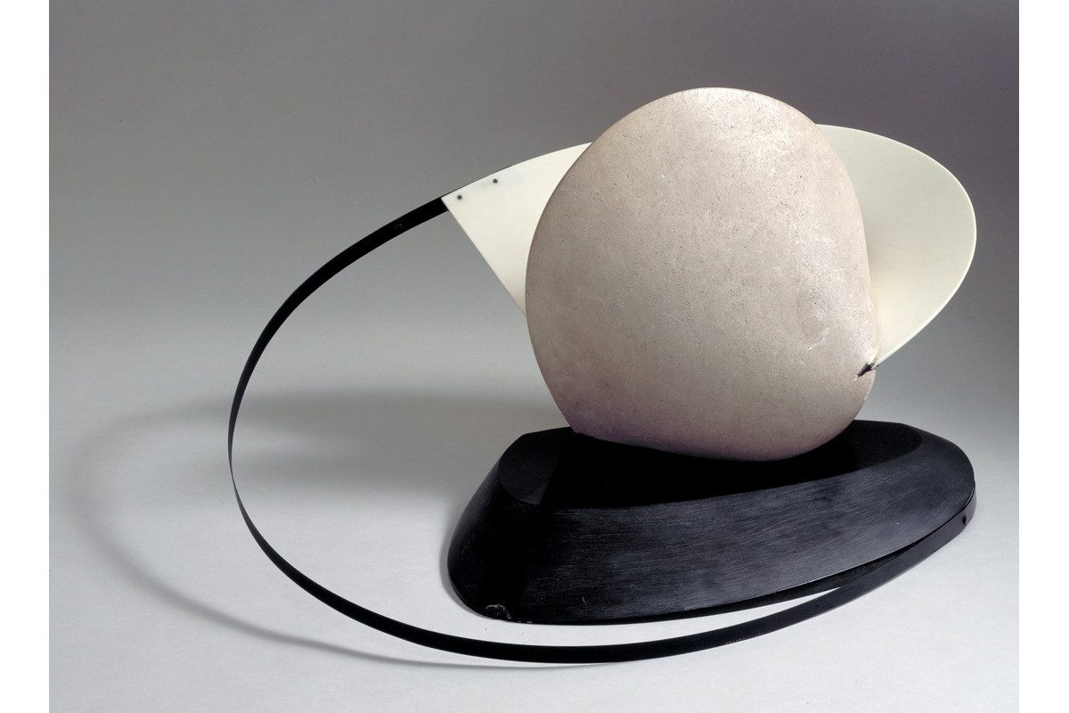 Naum Gabo - Construction Stone With A Collar