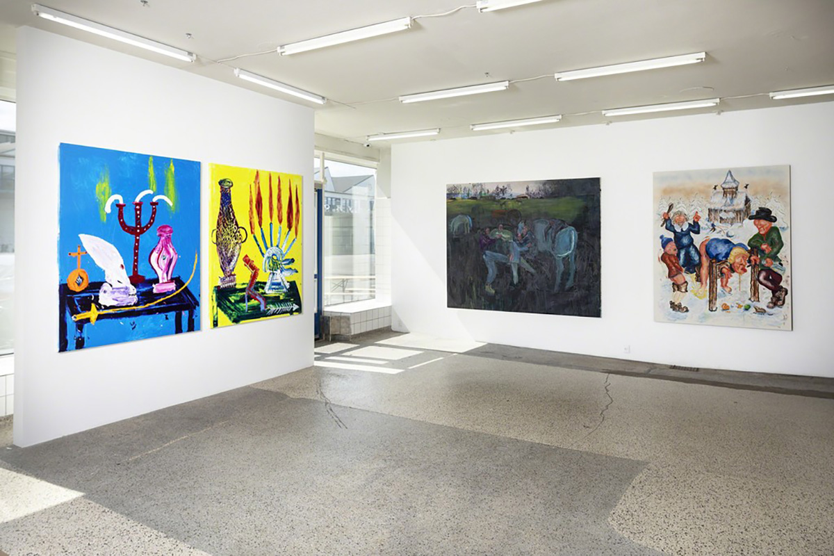New Bad Painting Exhibition View V1 Gallery Copenhagen 1