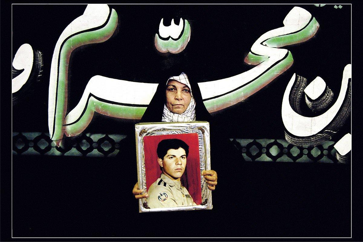 Newsha Tavakolian - Mothers of Martyrs, 2006, Los Angeles County Museum of Art, purchased with funds provided by Nina Ansary, © Newsha Tavakolian, photo courtesy Thomas Erben Gallery