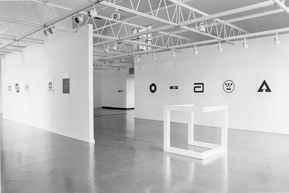 Objects and Logotypes, Installation View, 1980