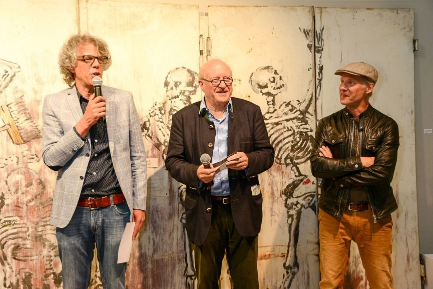 Opening of the Thomas Baumgartel Exhibition at 30works