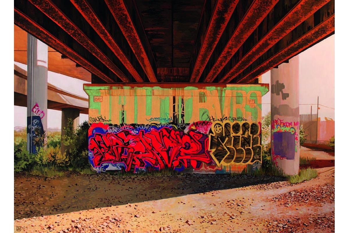 PLASTIC MURS - Jessica Hess, Underpass II, 2016 - © Plastic Murs