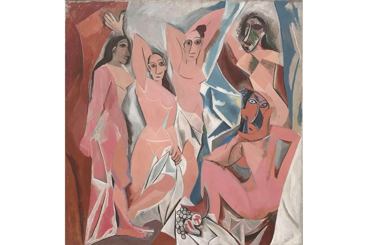 Pablo Picasso - Les Demoiselles d Avignon