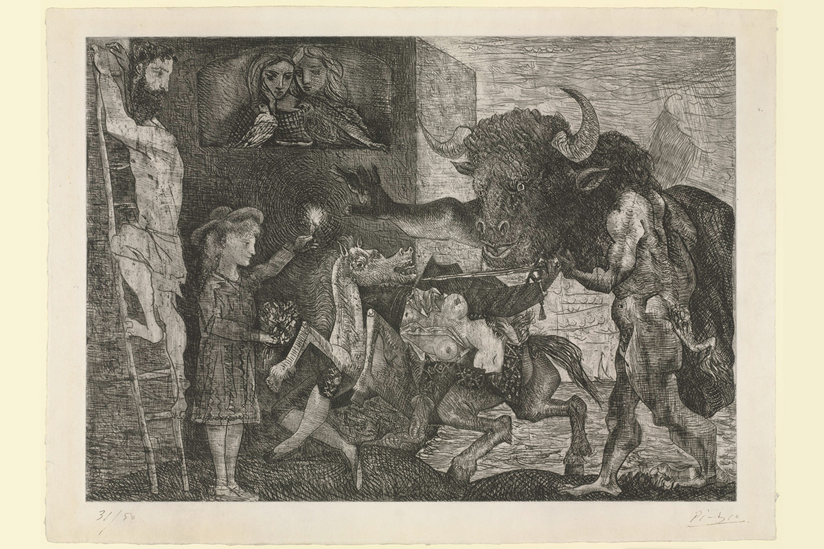 Pablo Picasso - Minotauromachy, 1935