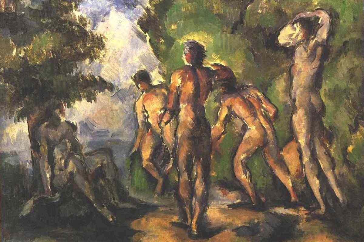Paul Cezanne - Bathers at Rest, 1904