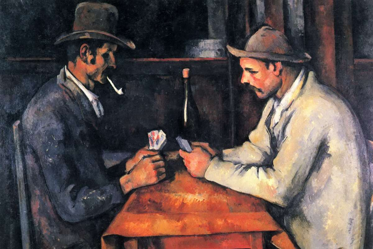 Paul Cezanne - Card Players Private collection_