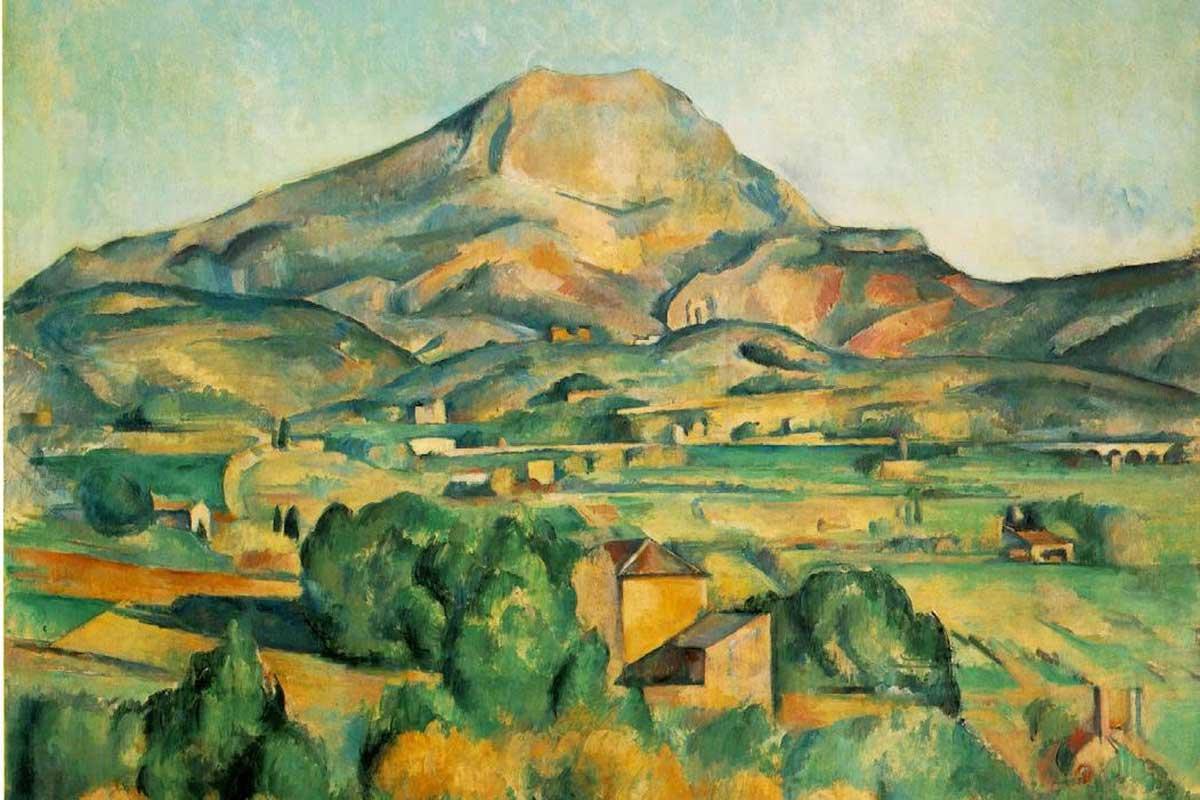 Paul-Cezanne---Mont-Sainte-Victorie,-detail.-Image-via-pinterst.com-
