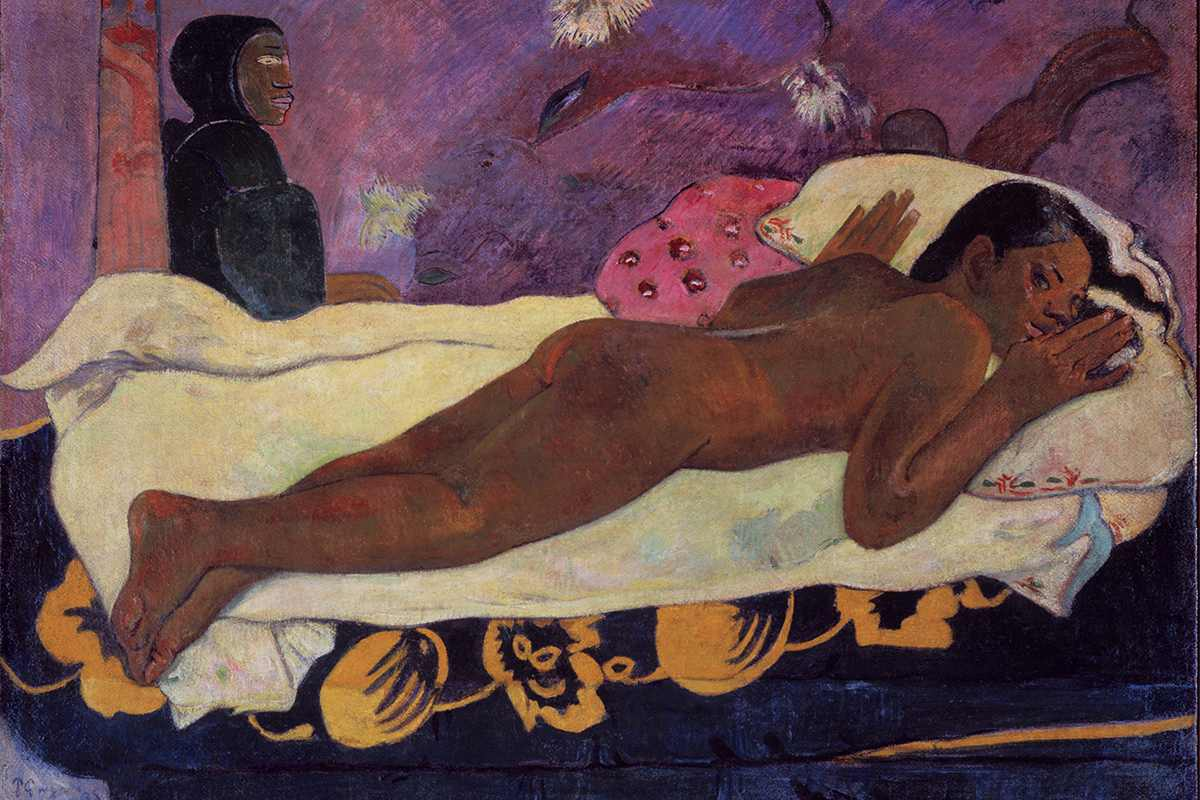Paul Gauguin- Spirit of the Dead Watching, 1892