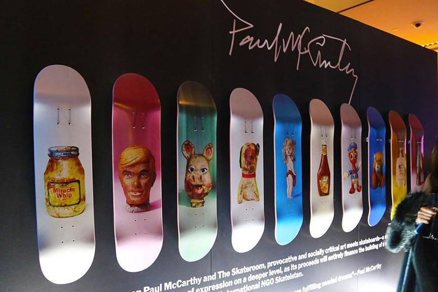 Paul McCarthy Skateboards