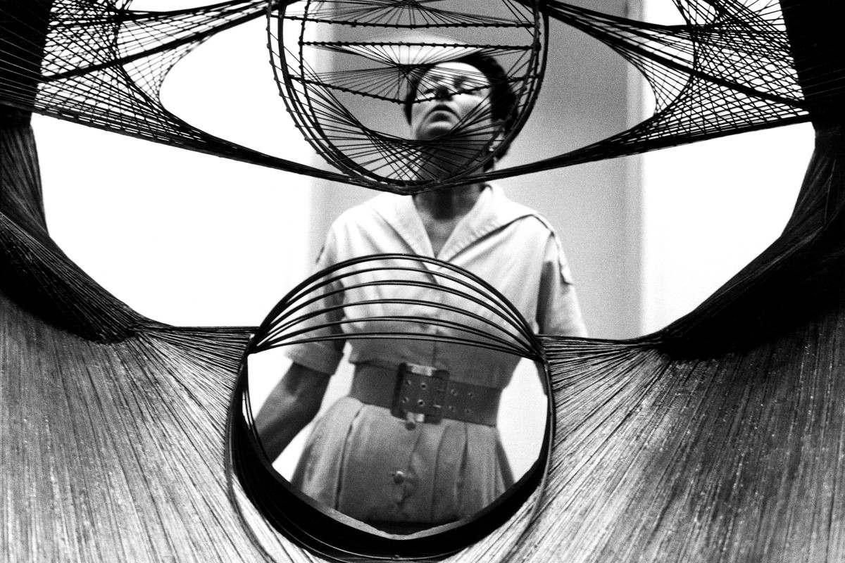 Peggy Guggenheim in the mid-1930s, photo via magnetafoundaton.org