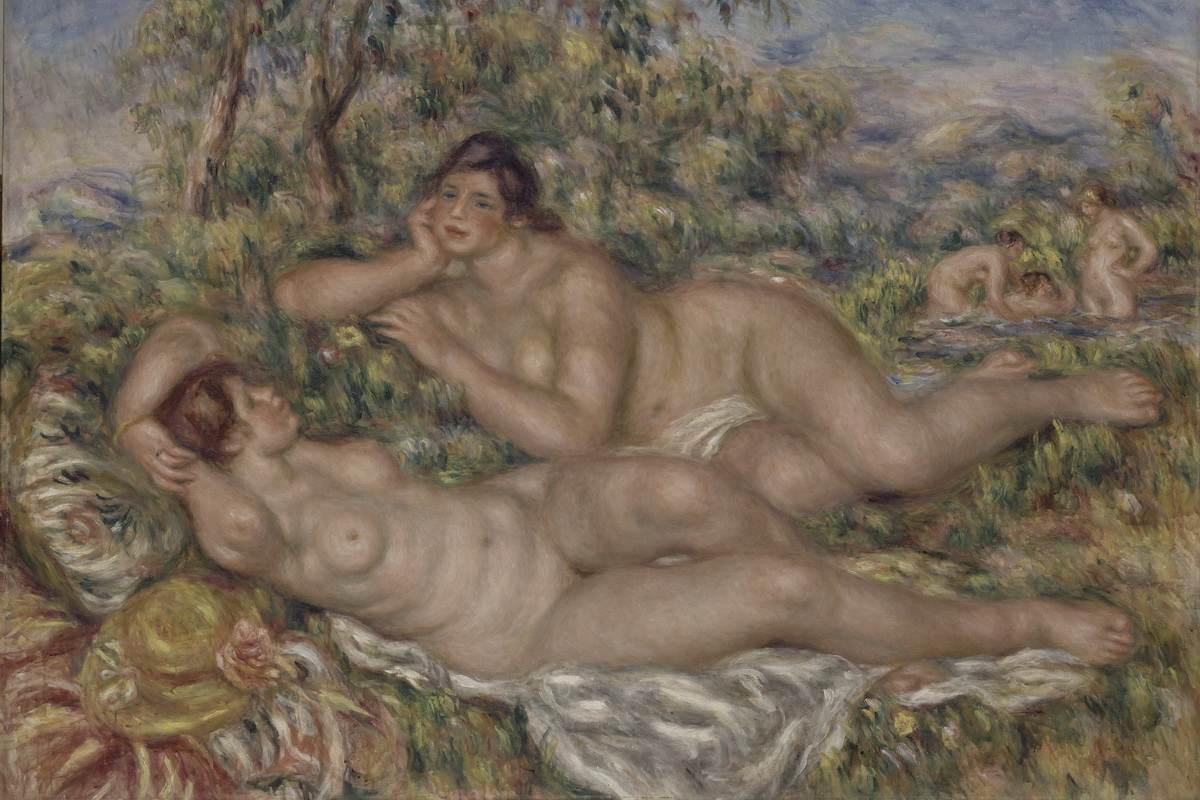 Pierre-Auguste Renoir - The Bathers