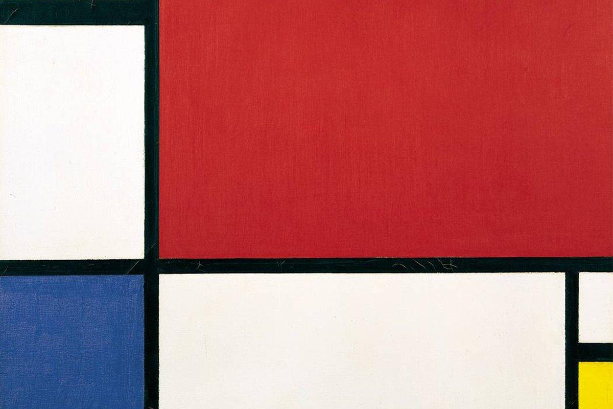Piet Mondrian - Composition II in Red Blue Yellow, 1930