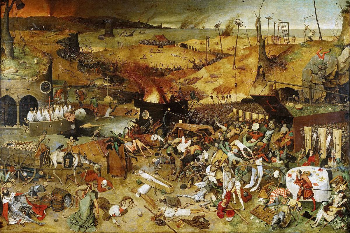 Pieter Bruegel the Elder - The Triumph of Death, via wikimedia