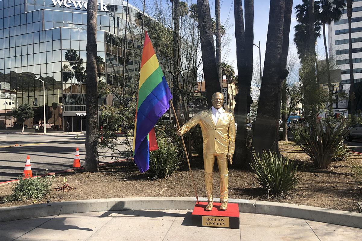 Plastic Jesus Kevin Hart Oscars Statue 2019 1