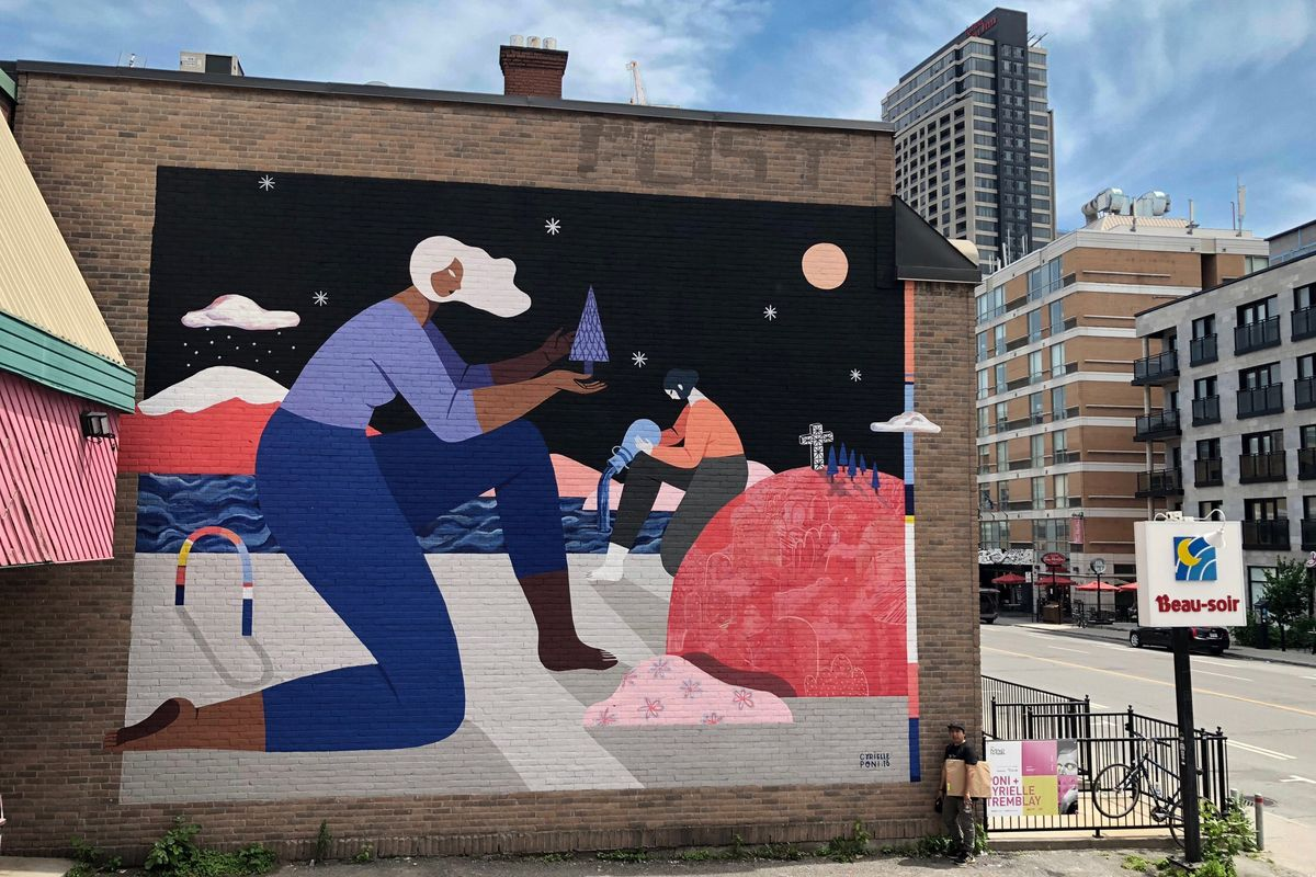 Poni-and-Cyrielle-Tremblay_MuralFestival2018