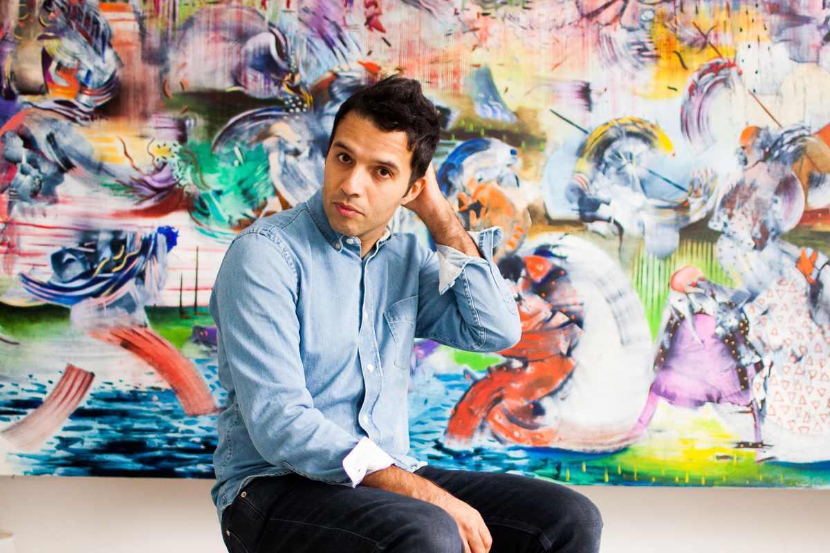 Portrait of Ali Banisadr, Courtesy the artist and BlainSouthern, Photo credit Fernando Sancho