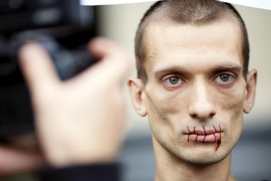 Pyotr Pavlensky (courtesy of therussianreader.wordpress.com)