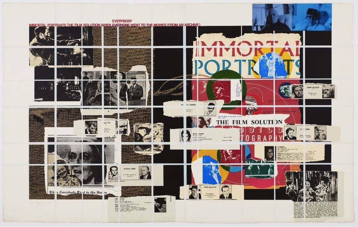 R.B. Kitaj - Immortal Portraits, 1972