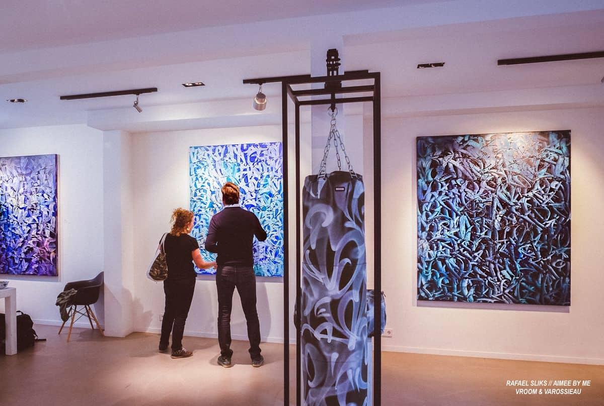 Rafael Sliks, Motion, Installation View 6