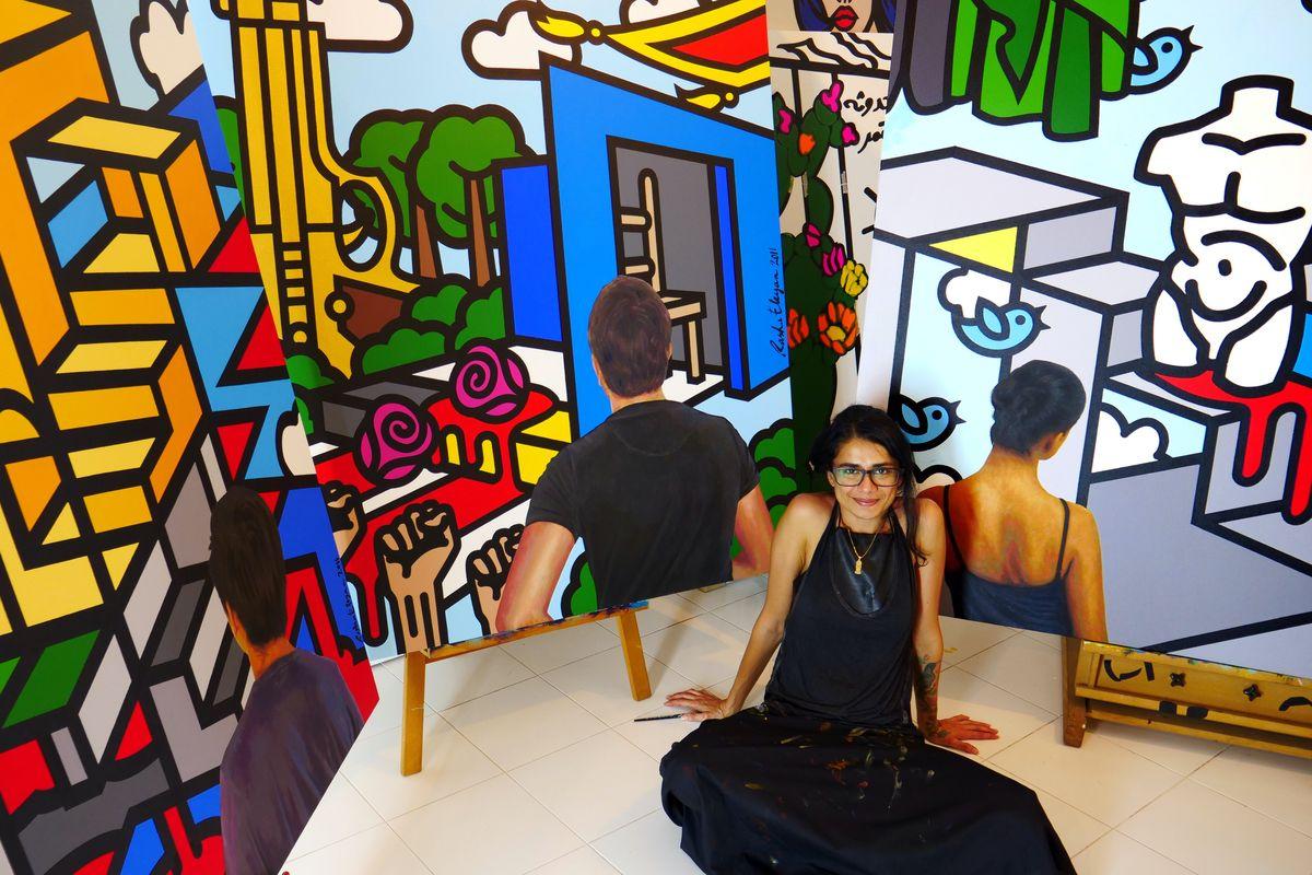 Rasha Eleyan, Studio