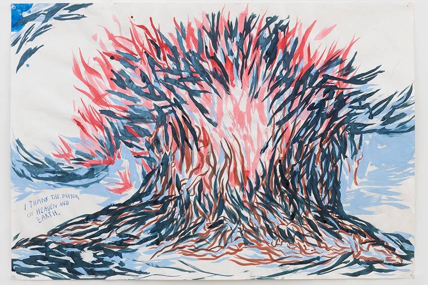 Raymond Pettibon - No Title (I thank the...), 2005