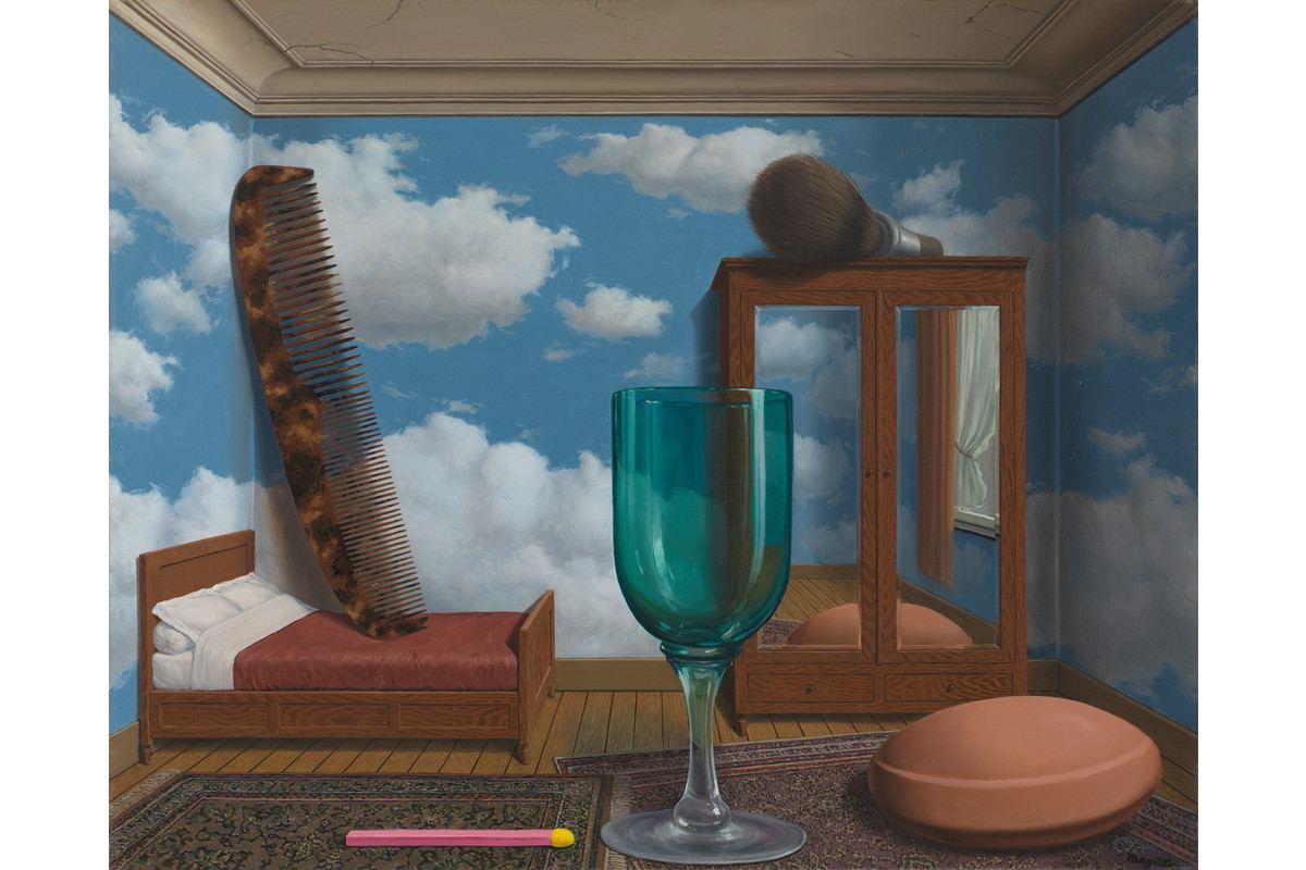 René Magritte - Les valeurs personnelles (Personal Values), 1952