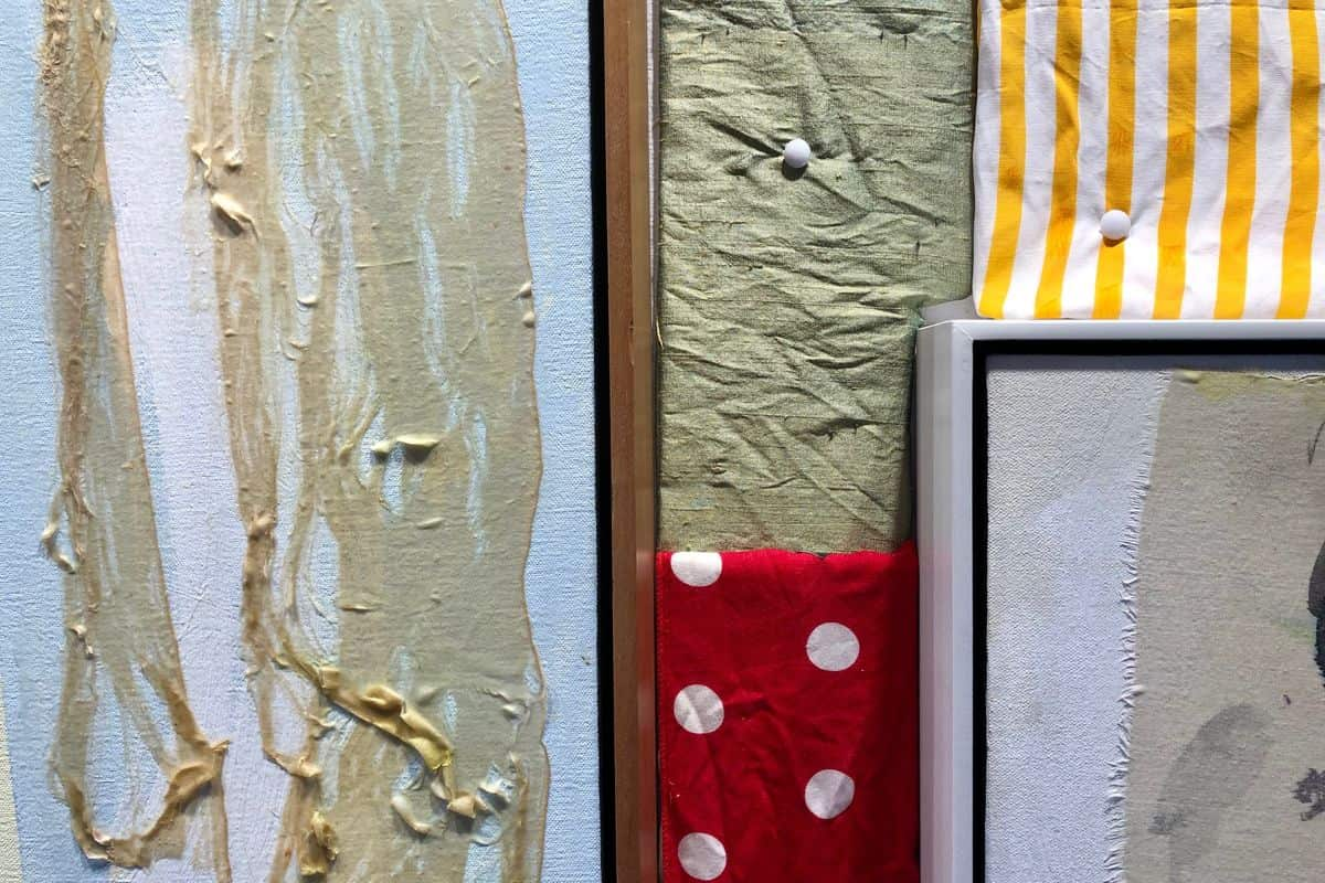 Rick Begneaud's Fabrics, Courtesy Woodward Gallery 3