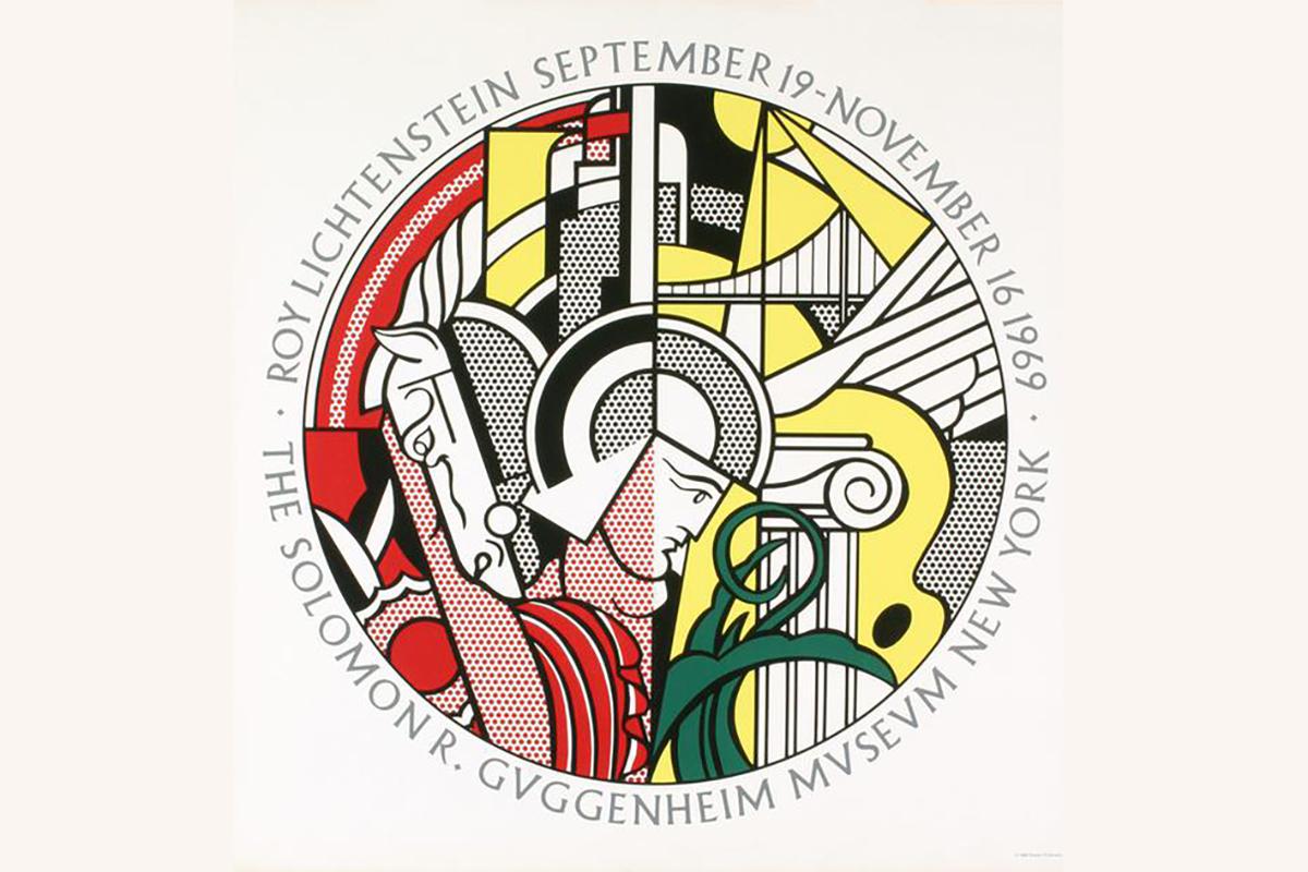 Roy Lichtenstein - Guggenheim Museum 1