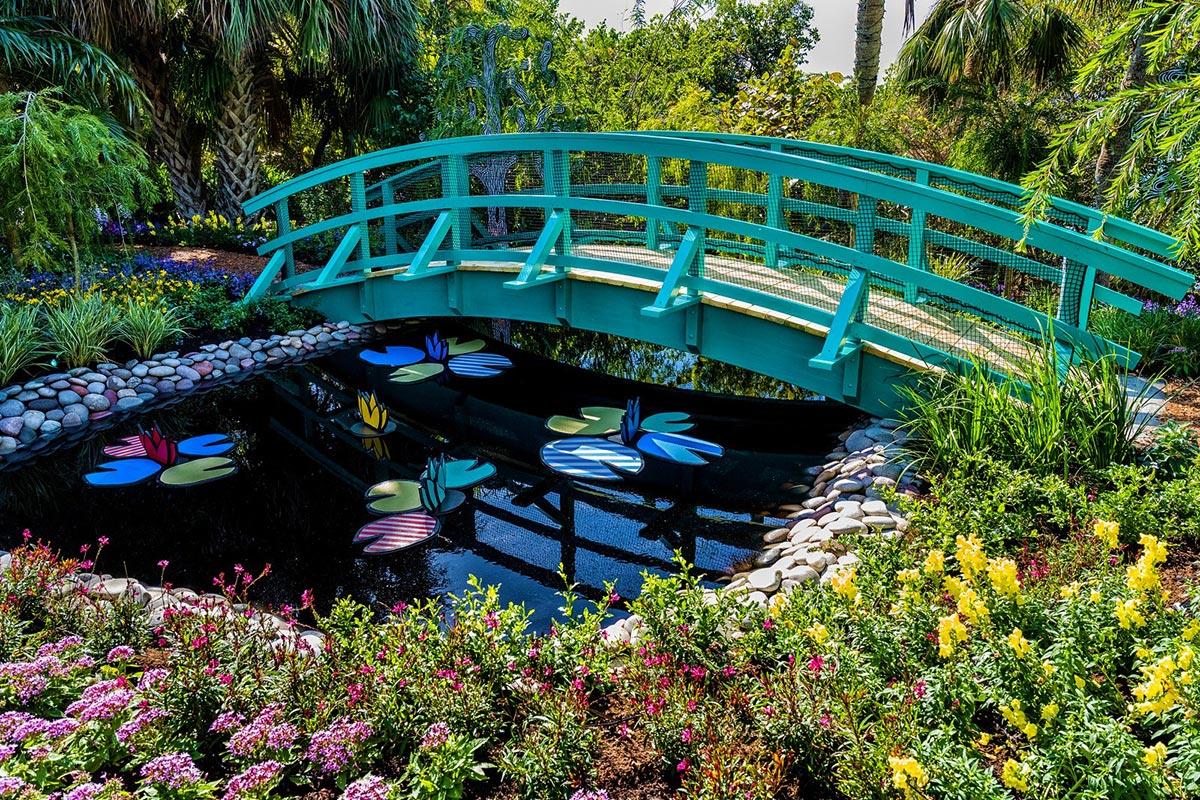 Roy Lichtenstein - Water Gardens at Giverny