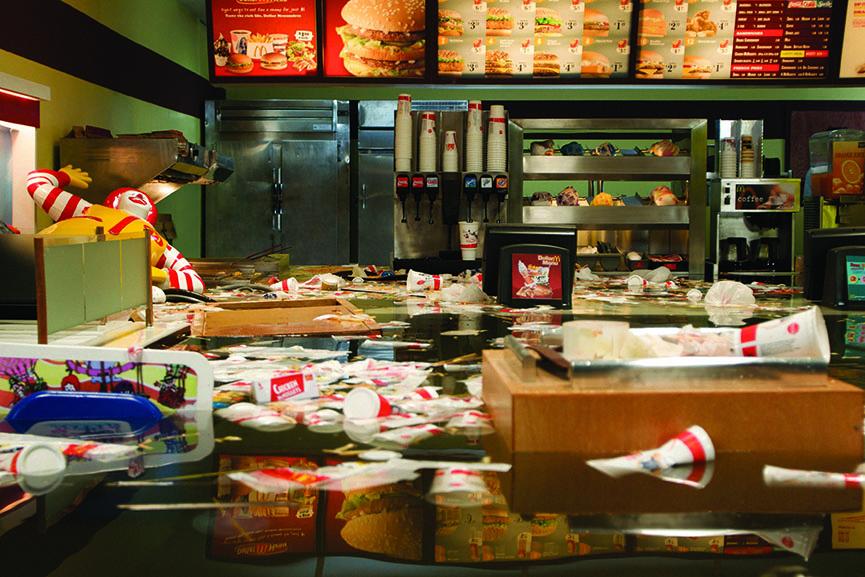 SUPERFLEX - Flooded McDonalds (still) 2009