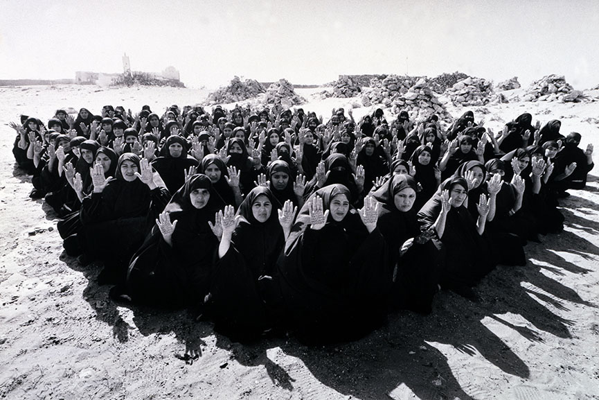 Shirin Neshat Rapture 1999 two-channel video_audio installation, 16mm film transferred to video